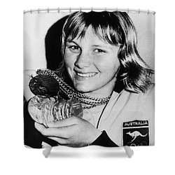 Shane Gould (1956- ) Shower Curtain by Granger
