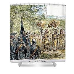 Sir Francis Drake Shower Curtain by Granger