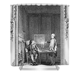 Sterne: Tristram Shandy Shower Curtain by Granger