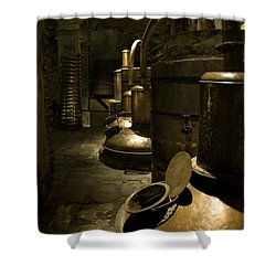 Tequilera No. 1 Shower Curtain by Lynn Palmer