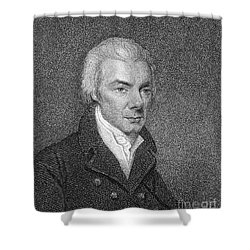 William Wilberforce Shower Curtain by Granger