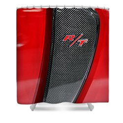 2012 Dodge Charger Rt  Shower Curtain by Gordon Dean II