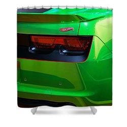 2012 Hot Wheels Chevrolet Camaro Concept Shower Curtain by Gordon Dean II