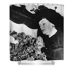 Rudolph Valentino Shower Curtain by Granger