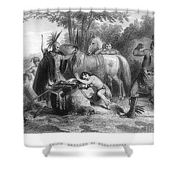 Pocahontas (1595?-1617) Shower Curtain by Granger