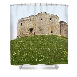 Scenes From The City Of York  Shower Curtain by Carol Ailles