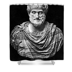 Aristotle (384-322 B.c.) Shower Curtain by Granger