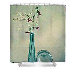 Autumn Still Life Shower Curtain by Nailia Schwarz