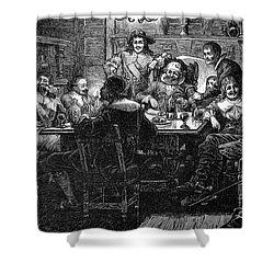Benjamin Jonson (1573-1637) Shower Curtain by Granger