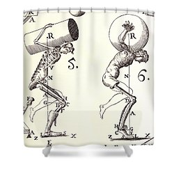 Biomechanics Shower Curtain by Science Source