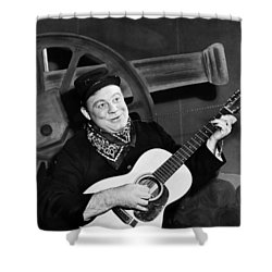 Burl Ives (1909-1995) Shower Curtain by Granger