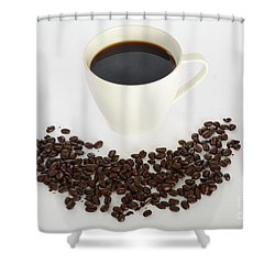 Coffee Shower Curtain by Photo Researchers, Inc.