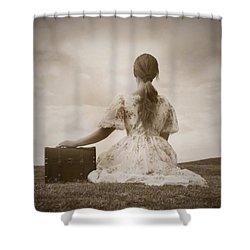 Farewell Shower Curtain by Joana Kruse