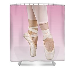 Female Dancer Shower Curtain by Ilan Rosen