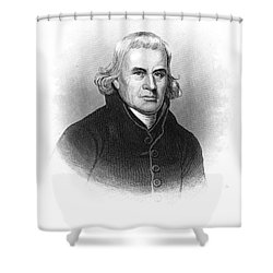 Francis Asbury (1745-1816) Shower Curtain by Granger