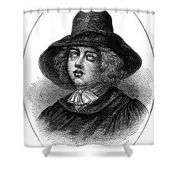 George Fox (1624-1691) Shower Curtain by Granger