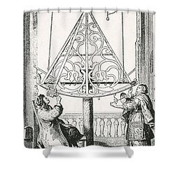 Johannes Hevelius, Polish Astronomer Shower Curtain by Science Source