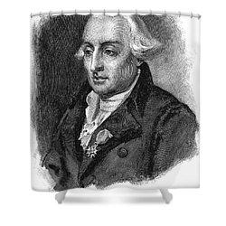 Joseph Louis Lagrange Shower Curtain by Granger