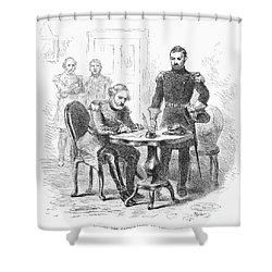 Lees Surrender, 1865 Shower Curtain by Granger