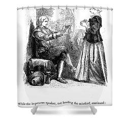 Longfellow: Standish, 1859 Shower Curtain by Granger