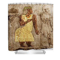 Muscular Dystrophy, Ancient Egypt Shower Curtain by Science Source