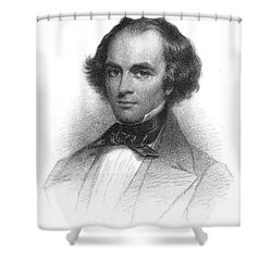 Nathaniel Hawthorne, American Author Shower Curtain by Photo Researchers