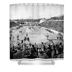 Olympic Games, 1896 Shower Curtain by Granger