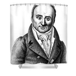 Philippe Pinel, French Physician Shower Curtain by Science Source