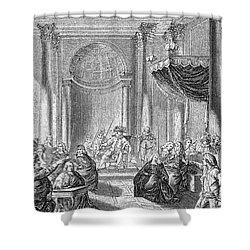 Pierre De Beaumarchais Shower Curtain by Granger