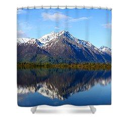 Pioneer Peak Shower Curtain