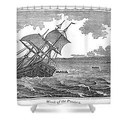 Pitcairn Island Shower Curtain by Granger