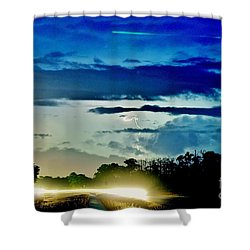 3 Streaks Shower Curtain