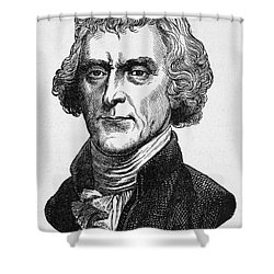 Thomas Jefferson Shower Curtain by Granger