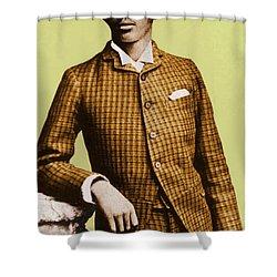W.e.b. Du Bois, Civil Rights Activist Shower Curtain by Photo Researchers