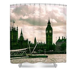 Westminster Shower Curtain by Dawn OConnor