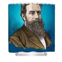 Wilhelm Roentgen, German Physicist Shower Curtain by Science Source