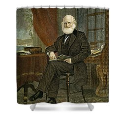 William Cullen Bryant Shower Curtain by Granger