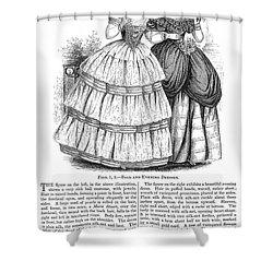 Womens Fashion, 1851 Shower Curtain by Granger
