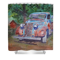 '38 Chevy Shower Curtain