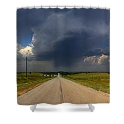 Shower Curtain featuring the photograph 3x3 by Brian Duram