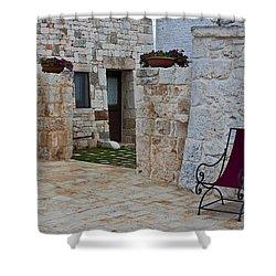 Alberobello - Apulia Shower Curtain by Joana Kruse