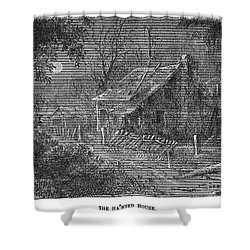 Clemens: Tom Sawyer Shower Curtain by Granger