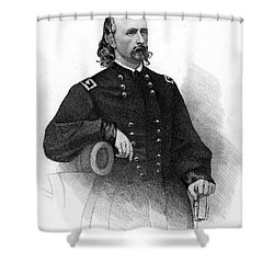 George Custer (1839-1876) Shower Curtain by Granger