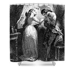 Goethe: Werther Shower Curtain by Granger