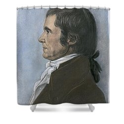 John Marshall (1755-1835) Shower Curtain by Granger