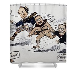 Presidential Campaign 1908 Shower Curtain by Granger