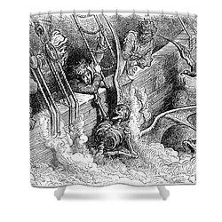 Rabelais: Pantagruel Shower Curtain by Granger