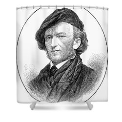 Richard Wagner (1813-1883) Shower Curtain by Granger
