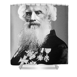 Samuel Morse, American Inventor Shower Curtain by Science Source