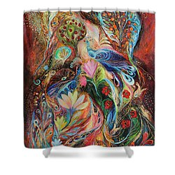 The Magic Garden Shower Curtain by Elena Kotliarker